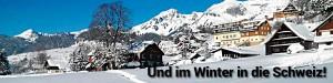 Und im Winter in die Schweiz