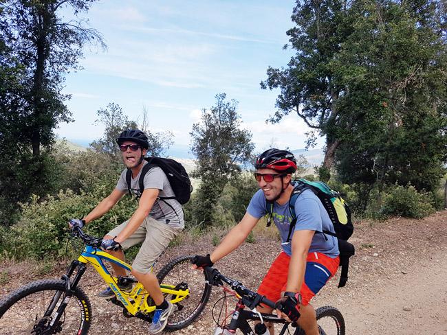 Biken auf Elba mit AF-Reisen