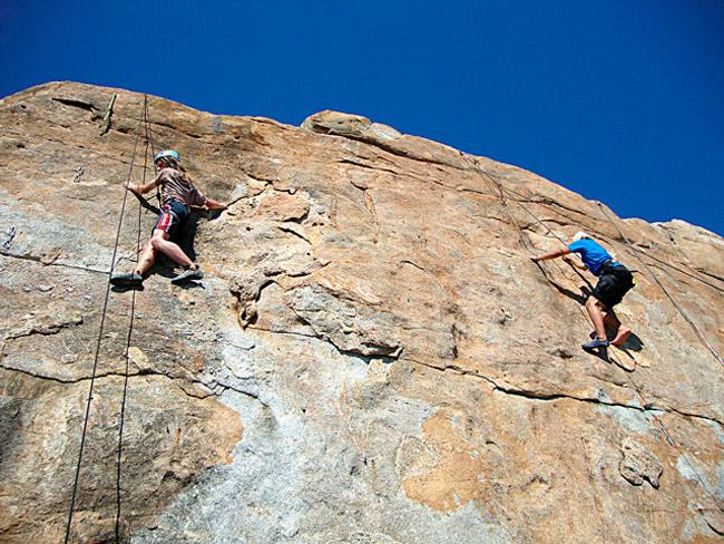 Klettern auf Elba bei AF-Reisen