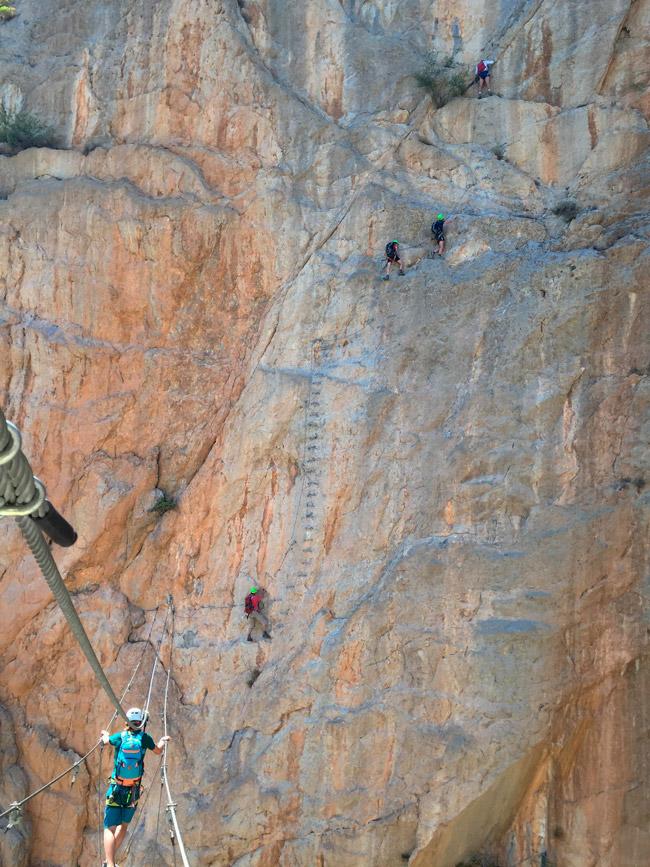 Klettern bei AF-Reisen