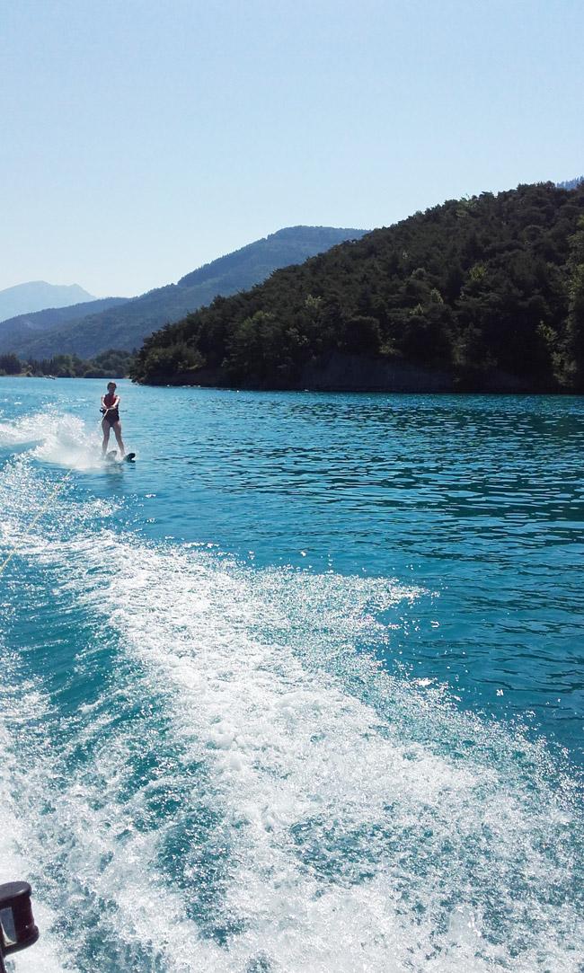 Wasserski und Funboard mit AF-Reisen