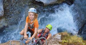 Klettersteig und Sportklettern mit AF-Reisen in Le Roustou