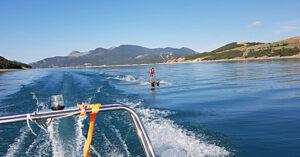 Wasserski mit AF-Reisen in Le Roustou